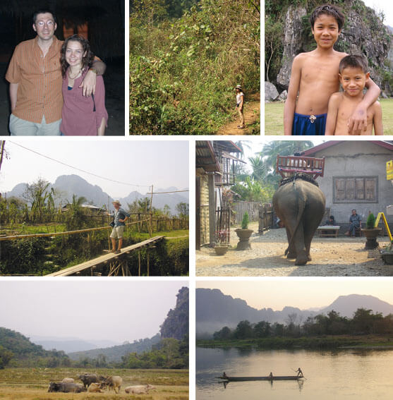 Pause für die Tierheilpraxis - Thailand und Laos 2005
